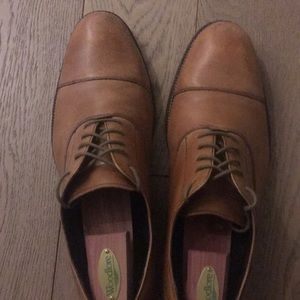 Cole Haan British Tan dress shoes